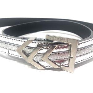 Chanel Chevron Belt